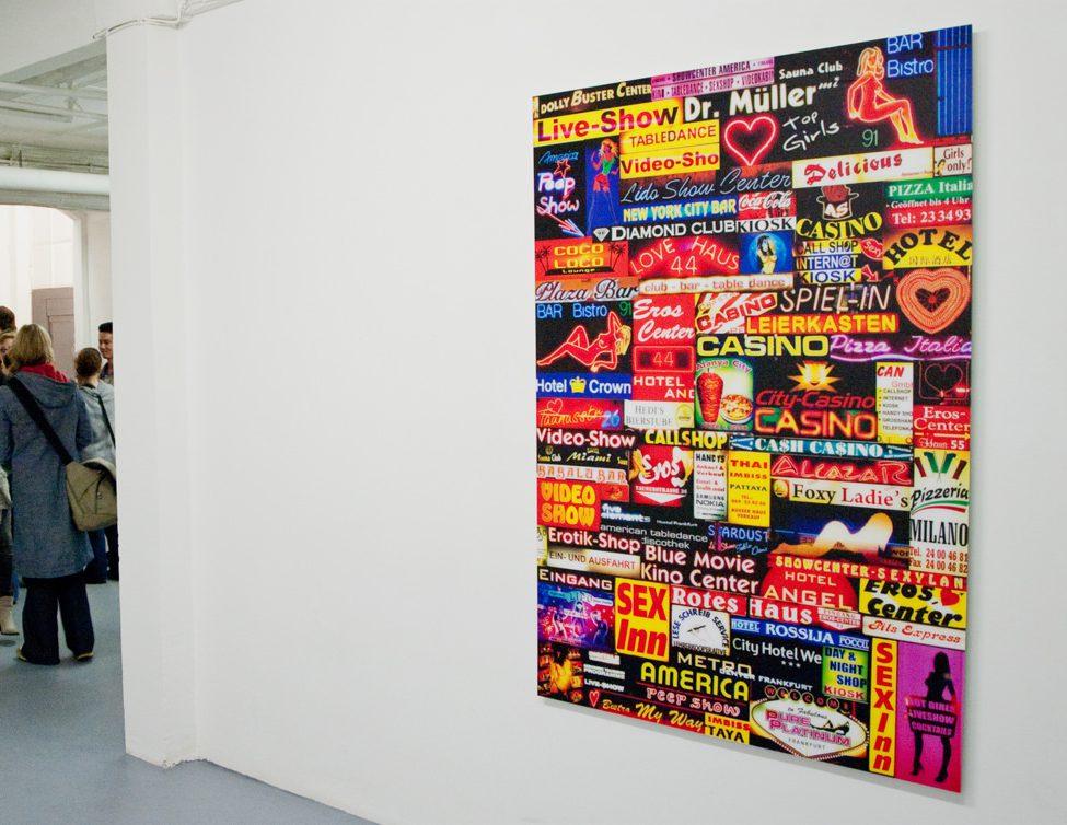 Foto Ausstellung Frankfurter Strassen